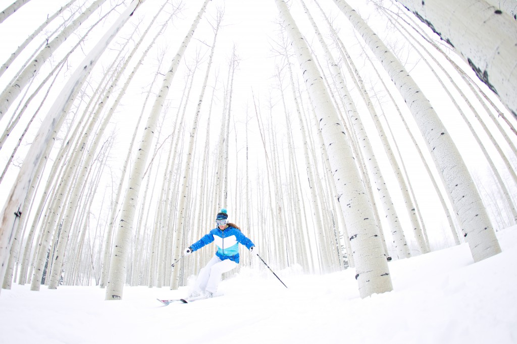 skiing aspen mountain