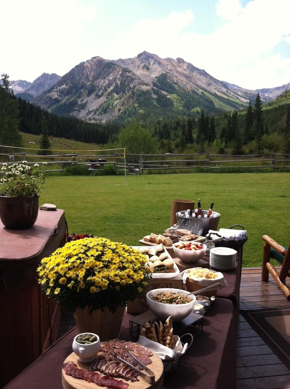 ranch dining aspen