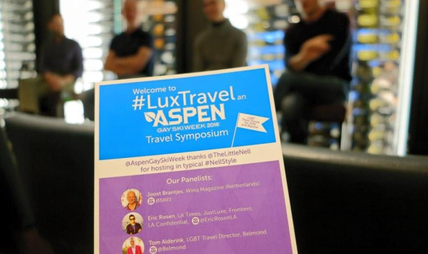 The Nell and Aspen Gay Ski Week's #LuxTravel Symposium