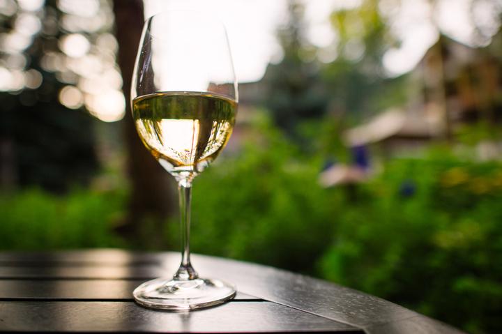 Wine on the Patio