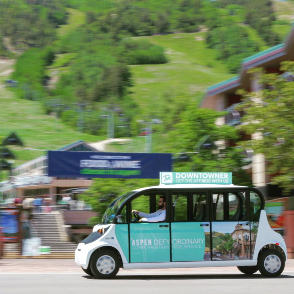 Downtowner Electric Vehicle