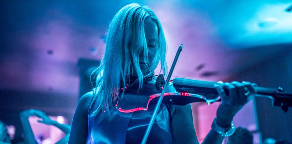 Electric violinist Kat V