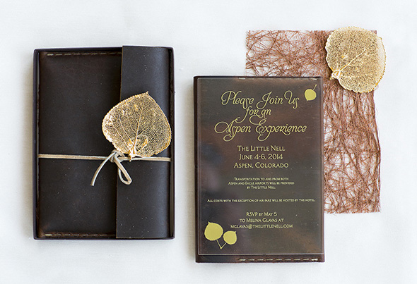 Aspen Wedding Invitations