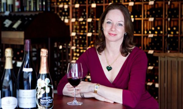 Virginia Phillip Master Sommelier at The Little Nell